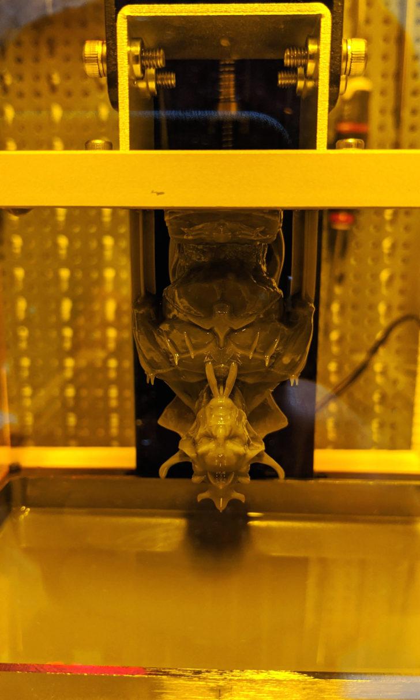 Dracula imprimé en 3D 001