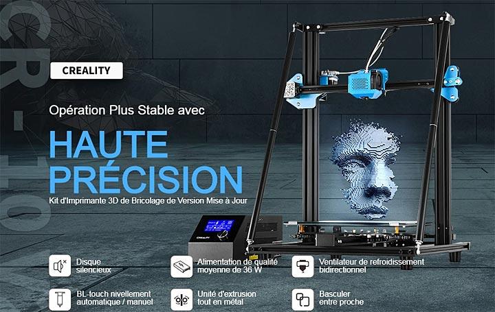 Creality CR10 v2 imprimante 3D
