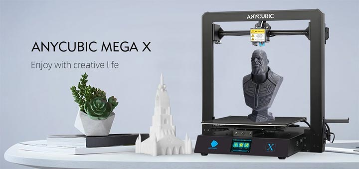 Anycubic Mega X imprimante 3D