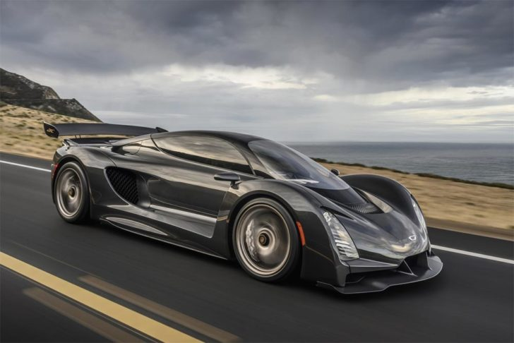 Czinger 21c supercar hybride 3D