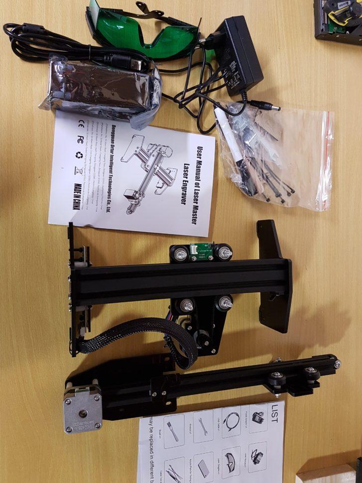 unbox Ortur Laser Master 15W CNC