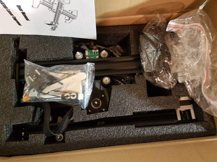 unboxing Ortur Laser Master 15W CNC