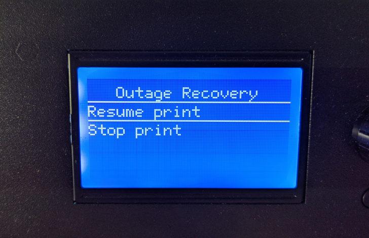 récupération d'impression - print recovery