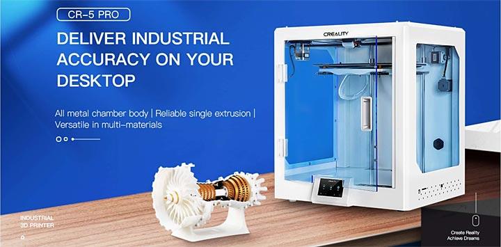 photo Creality CR-5 Pro CR5 imprimante 3D