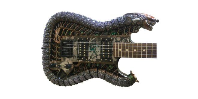 guitare Alien imprimée en 3D