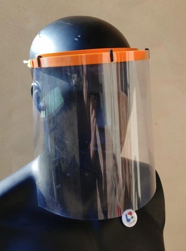 masque visière imprimée en 3D