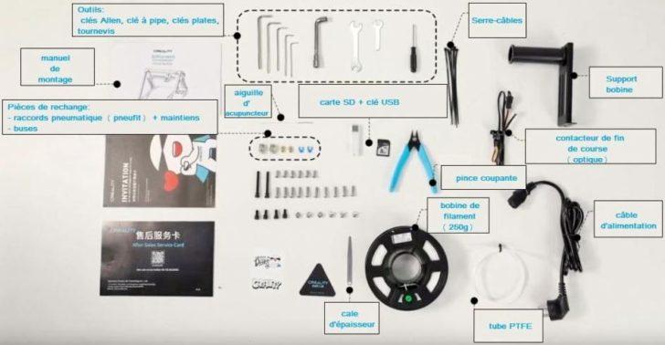 Creality 3DPrintMill parts
