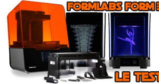 Test Formlabs Form 3