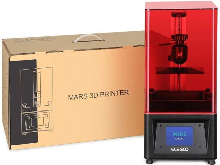 imprimante 3D Elegoo Mars package