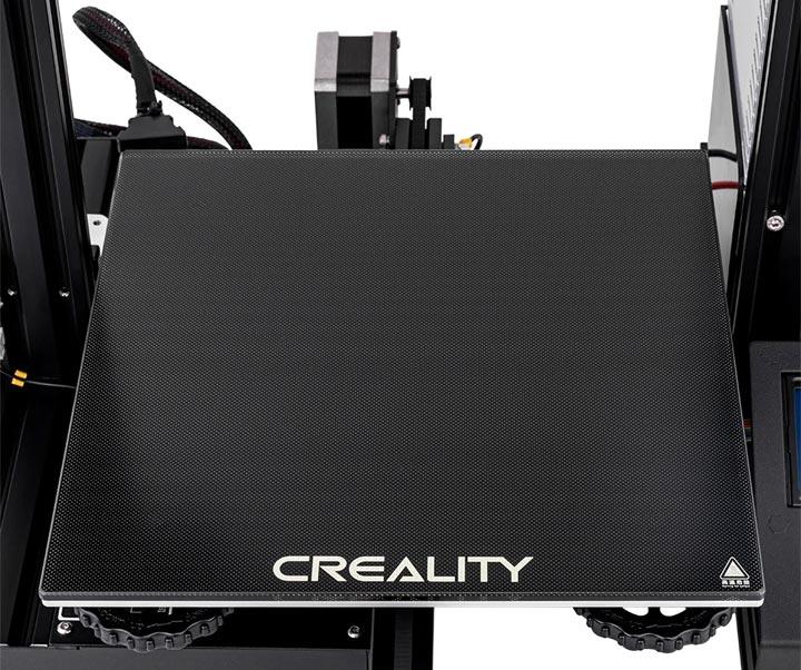 Creality Ender-3x Ender 3X photo imprimante 3D plateau