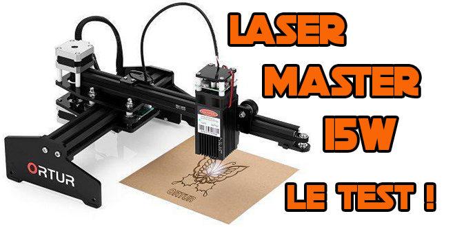 test ortur laser master 15w