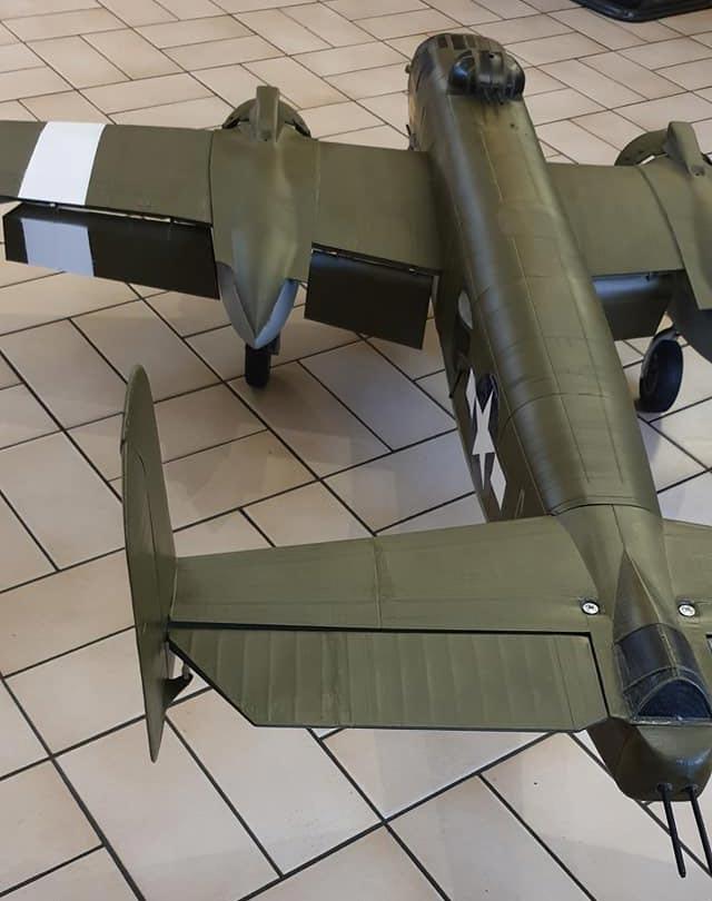 maquette avion militaire B-25 B25 imprimante 3D