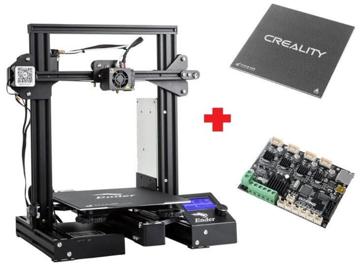 Creality Ender-3Xs Pro photo imprimante 3D