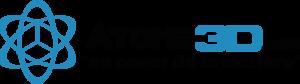 logo atome 3d