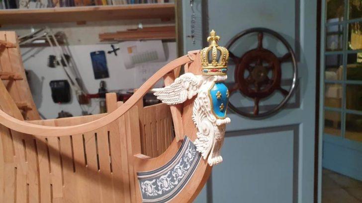 photo maquette bateau impression 3D