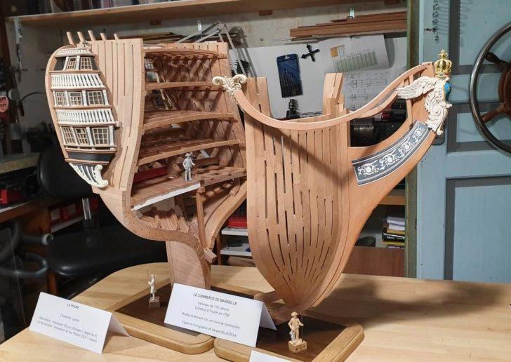 maquette bateau imprimante 3D