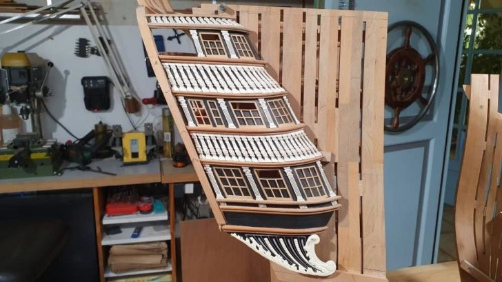 maquette bateau impression 3D FDM SLA