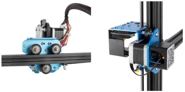 tuto Creality CR-10 V3 extrudeur direct drive e3d titan