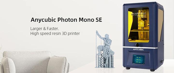 Anycubic Photon Mono SE 2K imprimante 3D