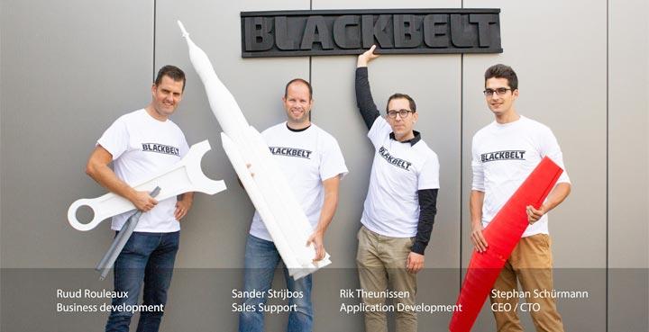 Blackbelt imprimante 3D infini plateau roulant