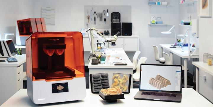 Formlabs Form 3B Form3B imprimante 3D dentiste