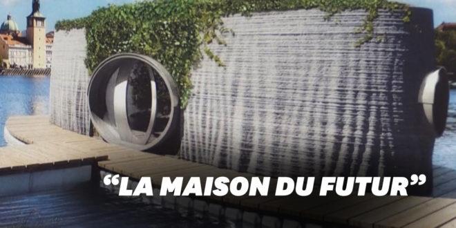 maison du futur imprimée en 3d