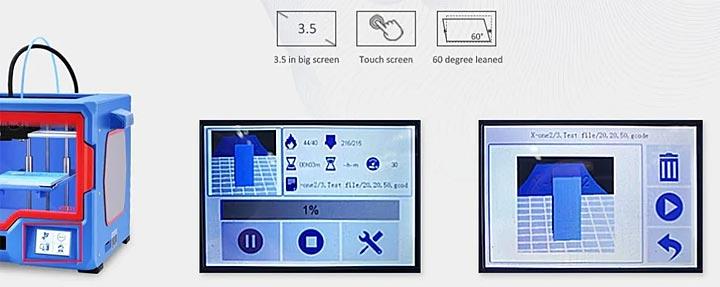 Qidi Tech X-one2 photo imprimante 3D