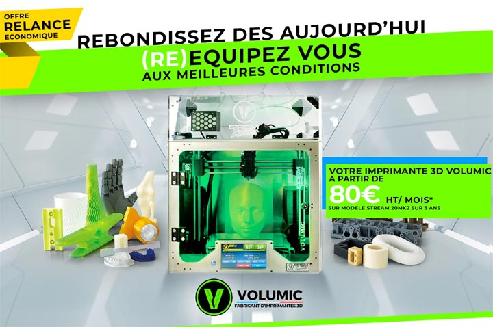 Volumic location imprimante 3D LLD