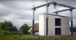 Belgique maison imprimée en 3D