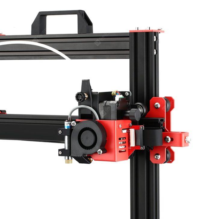 Imprimante 3D Ortur Obsidian dual gear extruder