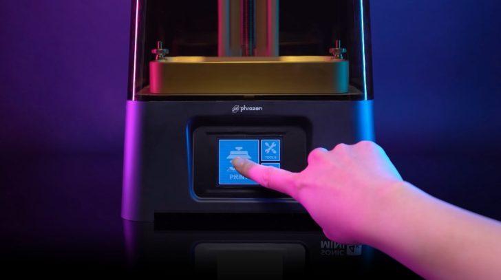 Phrozen Sonic Mini 4K écran tactile