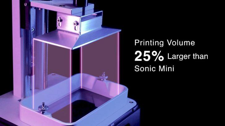 Phrozen Sonic Mini 4K print volume