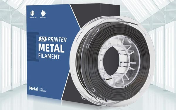 filament metal 316L Anycubic Uprise3D