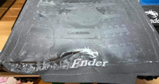 plateau gondolé imprimante 3D Ender