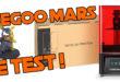 test elegoo mars