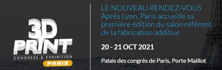 3D print 2021 Paris