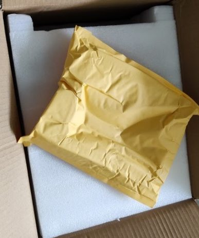 Nova3D Bene4 Unboxing Enveloppe