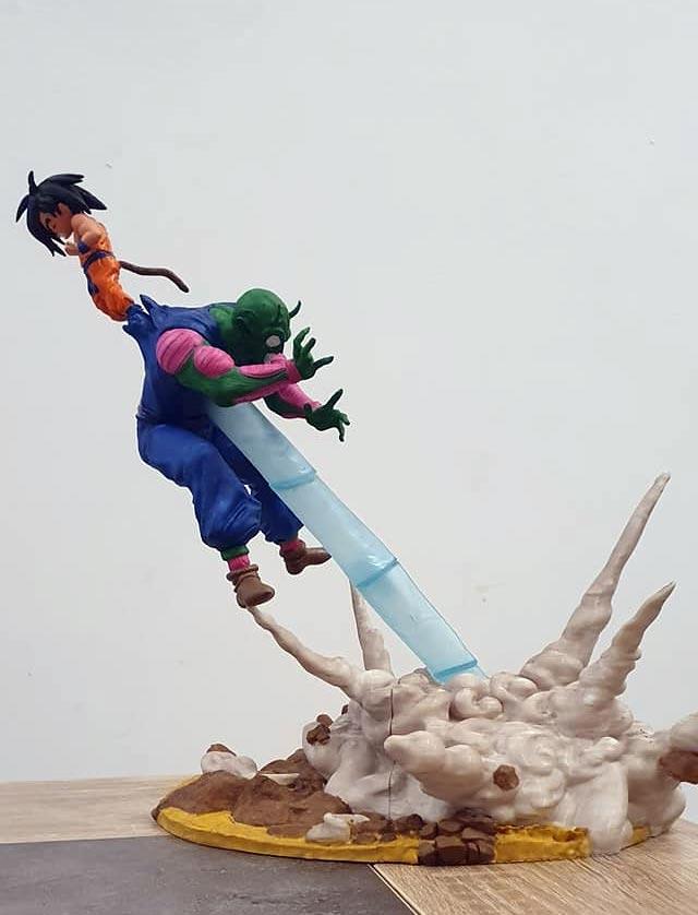 photo Dragon Ball figurine imprimée en 3D DBZ