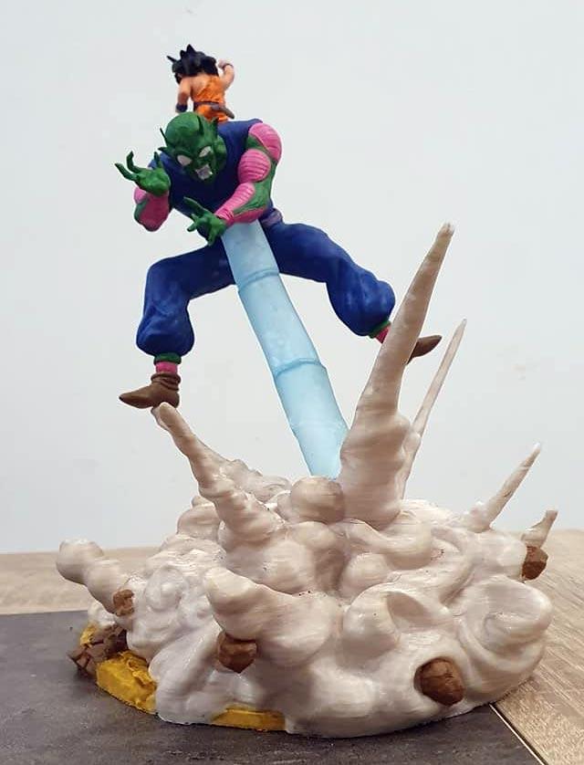 Dragon Ball figurine imprimée en 3D
