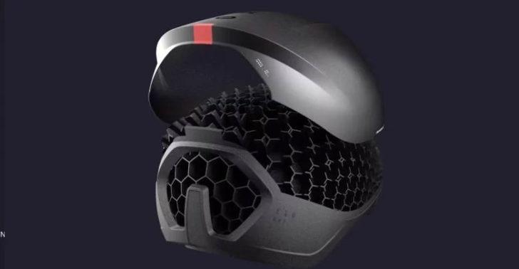 hexr casque velo 3D