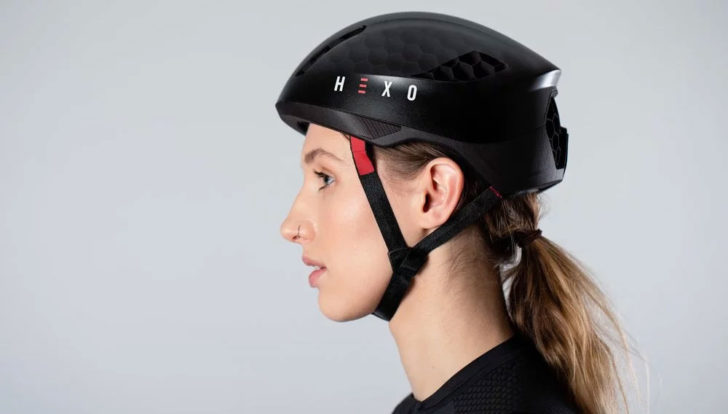 hexr casque velo 3D photo