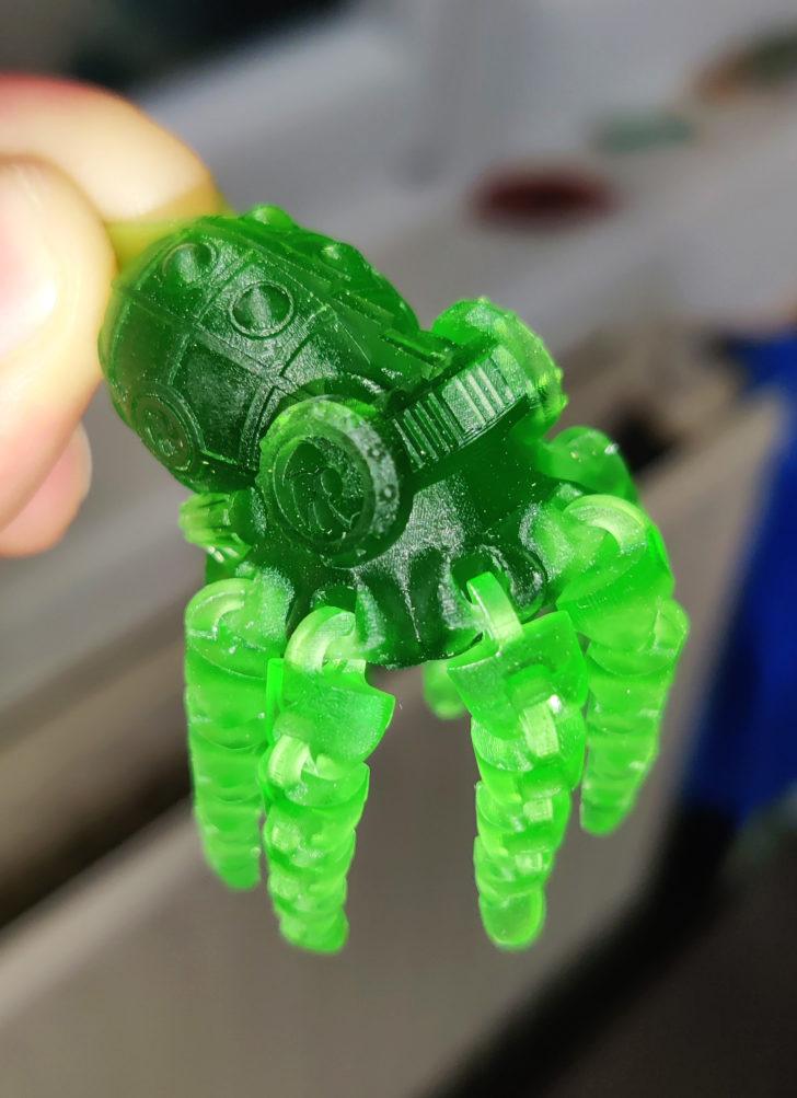 pieuvre articulée imprimée en 3D STL