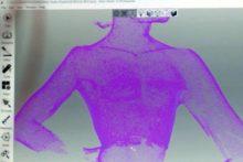 scan 3D poitrine scanner Artec Eva Lite