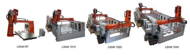 Thermwood LSAM MT, LSAM 1010, LSAM 1020, LSAM 1040