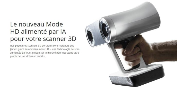 artec scanner 3d mode hd
