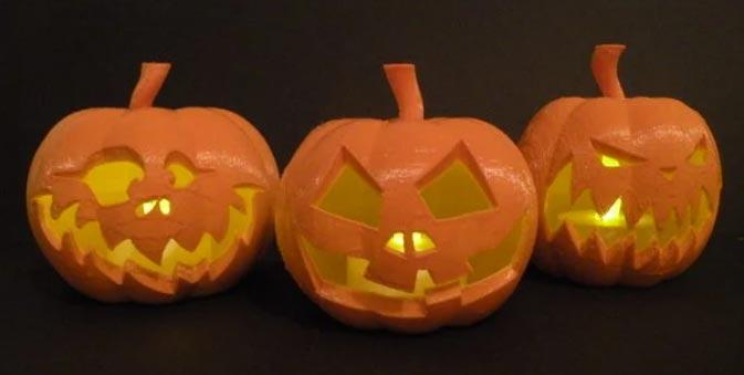 Halloween citrouilles imprimé en 3D