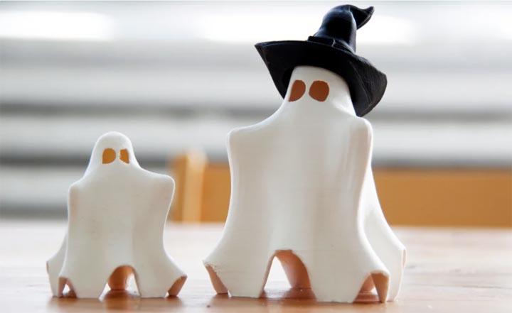 fantome halloween imprimé en 3D