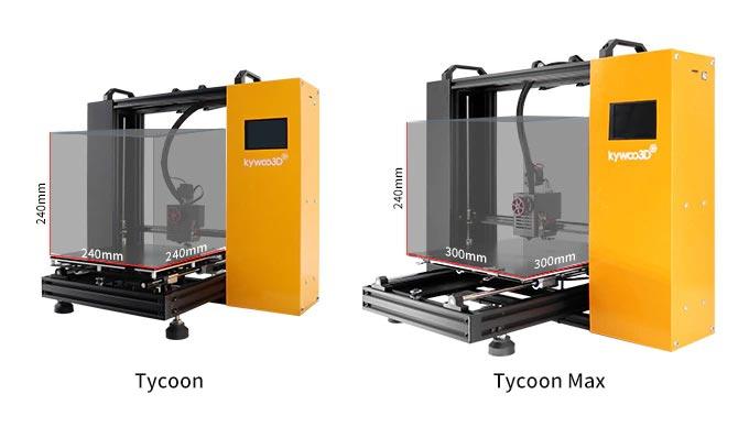 Kiwoo Tycoon Max imprimante 3D