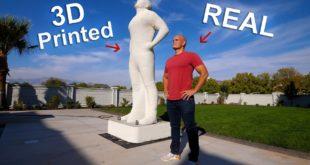 statue imprimée en 3d