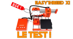 test EASYTHREED X1 review pla tpu